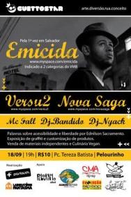 EMICIDA em Salvador, na primeira edição da GuettoStar, nesta sexta