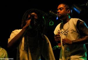 Entre as participações, os MC's Finado e Dimak (foto), que vem se revelando um dos bons nomes do rap soteropolitano.